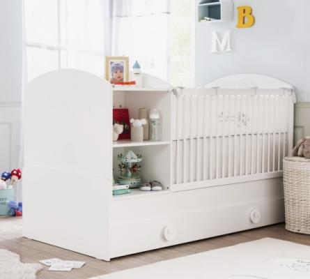 Кровать-трансформер (80х131/80х177) Baby Cotton 1015-3