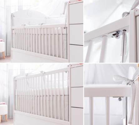 Кровать-трансформер (80х131/80х177) Baby Cotton 1015-5