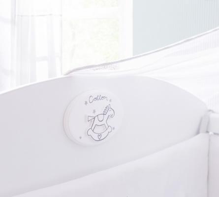 Кровать-трансформер (80х131/80х177) Baby Cotton 1015-6