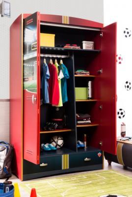 Шкаф трехдверный Football 1002.01-1