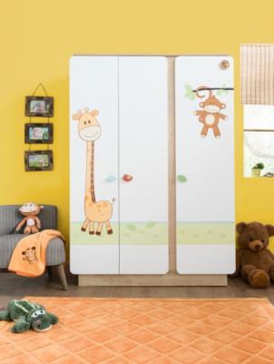 Шкаф трехдверный Safari Natura 1002-1