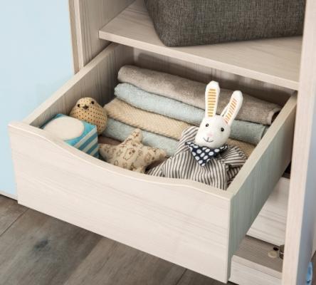 Шкаф трехдверный Baby Boy 1002-2