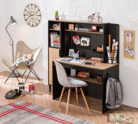 Стол письменный малый Black 1101-1