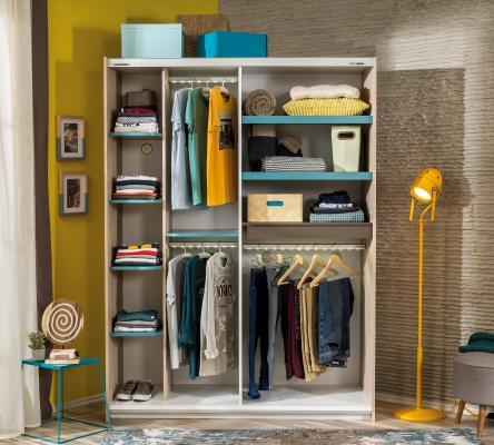 Шкаф большой, со сдвижными дверями Lofter 1003.00-1