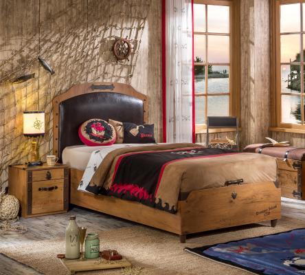 Кровать с подъемным механизмом Pirate 1706-1