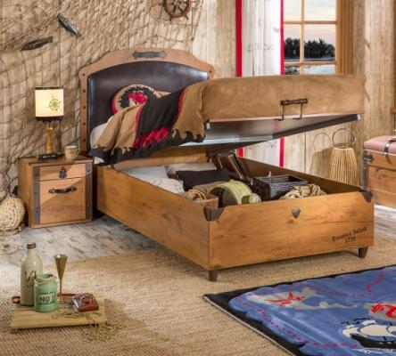 Кровать с подъемным механизмом Pirate 1706-3