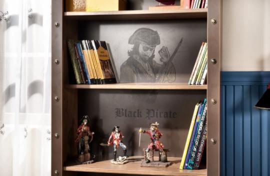 Стеллаж книжный Pirate 1501-2
