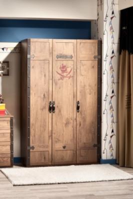 Шкаф  трехдверный  Pirate 1002-2