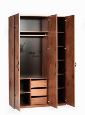 Шкаф  трехдверный  Pirate 1002-6