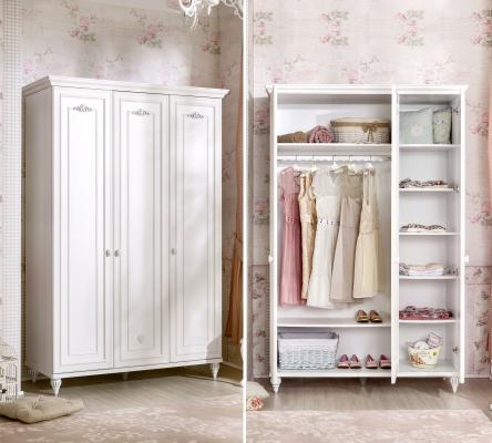 Шкаф трехдверный Romantica / Romantic ST 1005.00-1
