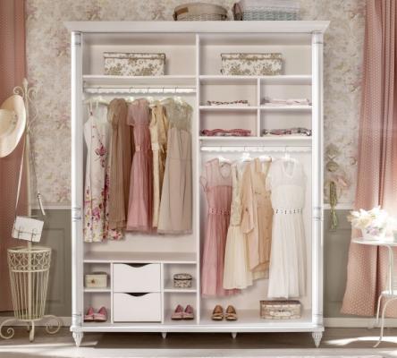 Шкаф большой со сдвижными дверями Romantic 1003.00-2