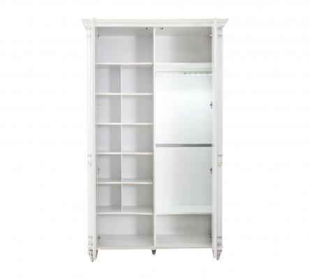 Шкаф двухдверный Romantic 1001.00-1