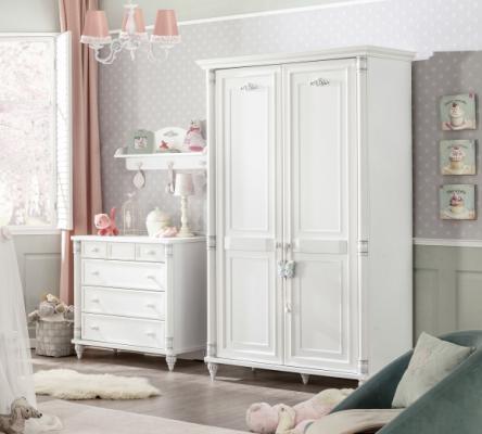 Шкаф двухдверный Romantic 1001.00-4