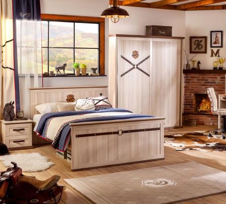 Шкаф большой, со сдвижными дверями Royal 1003-3