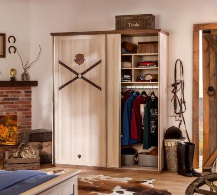 Шкаф большой, со сдвижными дверями Royal 1003-1