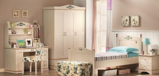 Подростковая комната Flora вариант 2-2