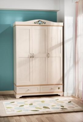 Шкаф трехдверный Flora 1001.00-2