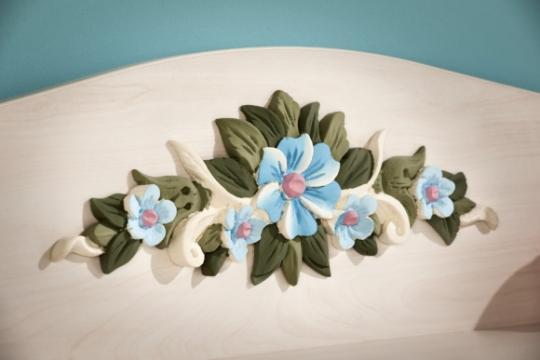 Шкаф трехдверный Flora 1001.00-5