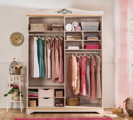 Шкаф большой со сдвижными дверями Flora 1006.00-2