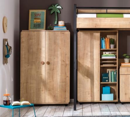 Шкаф двухдверный Natura 1008 Compact -2