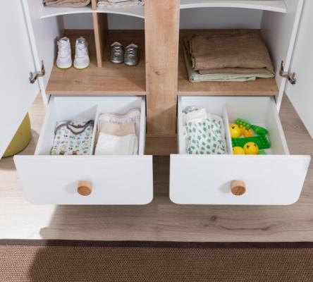 Шкаф двухдверный Natura Baby 1001.01-2