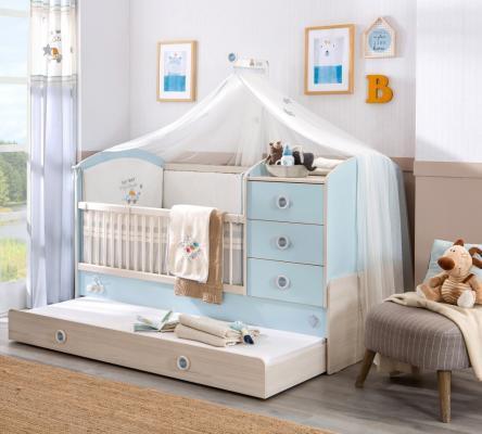Кровать-трансформер Baby Boy 1015-1