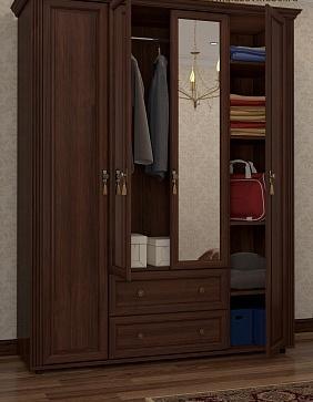 Спальня Montpellier (Орех Шоколадный)-1