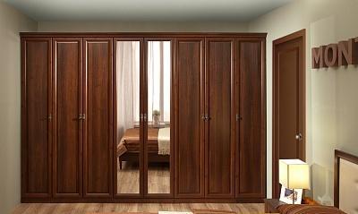 Спальня Montpellier (Орех Шоколадный)-3