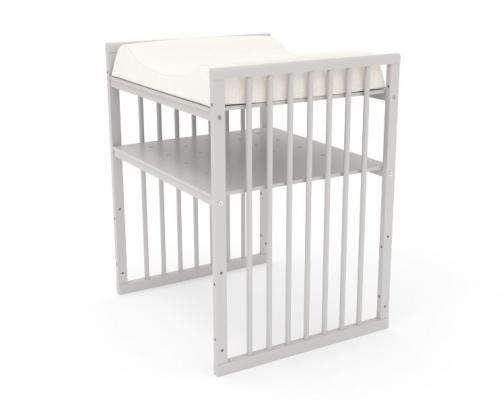 Детская кровать-трансформер Бэтти (выбеленный бук)-10