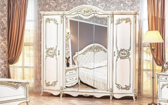 Спальня Даниэлла (крем) с 5-ти дверным шкафом-1