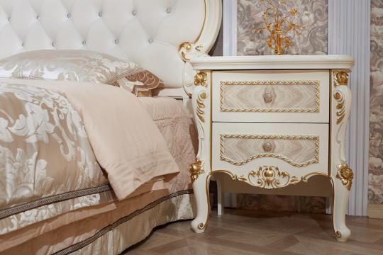 Спальня Констанция (крем) с 5-ти дверным шкафом-5