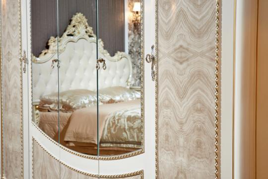 Спальня Констанция (крем) с 5-ти дверным шкафом-14