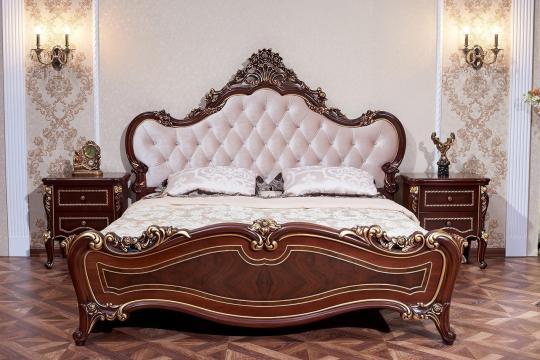 Спальня Констанция (темный орех) с 5-ти дверным шкафом-10
