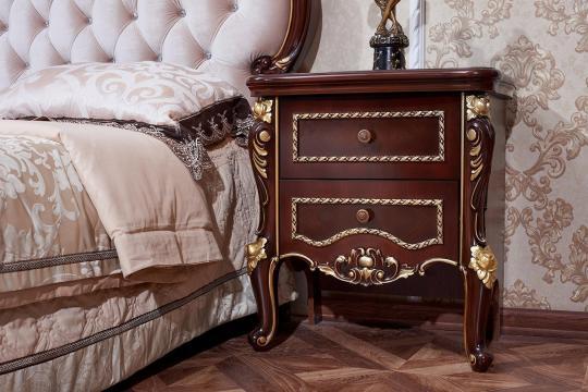Спальня Констанция (темный орех) с 5-ти дверным шкафом-7