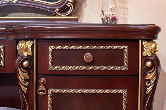 Спальня Констанция (темный орех) с 5-ти дверным шкафом-4