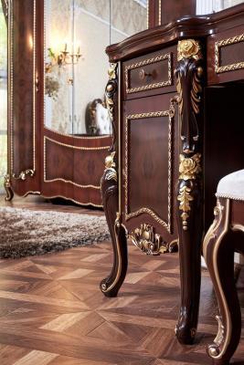 Спальня Констанция (темный орех) с 5-ти дверным шкафом-3