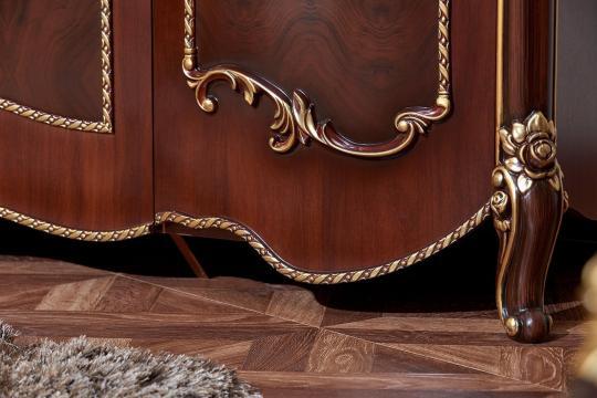 Спальня Констанция (темный орех) с 5-ти дверным шкафом-15