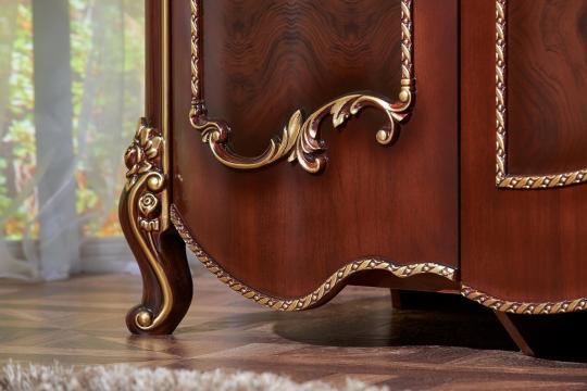 Спальня Констанция (темный орех) с 5-ти дверным шкафом-17