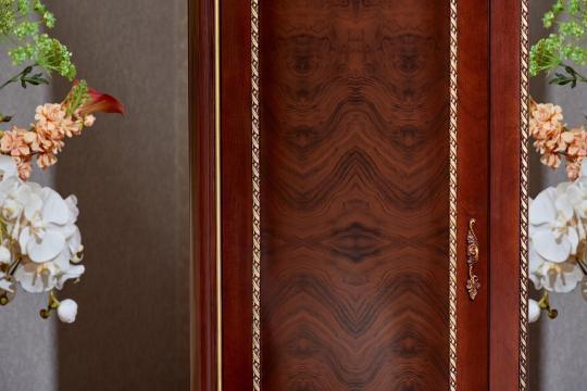 Спальня Констанция (темный орех) с 5-ти дверным шкафом-19