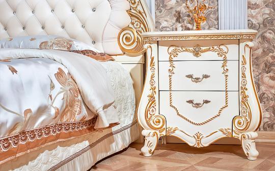 Спальня Монреаль (крем) с 5-ти дверным шкафом-1