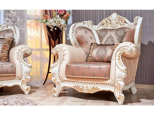 Комплект мягкой мебели Империал (крем)-4