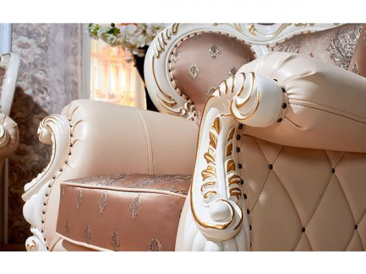 Комплект мягкой мебели Империал (крем)-3
