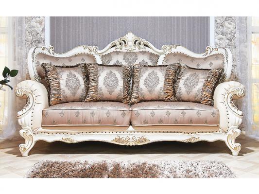 Комплект мягкой мебели Империал (крем)-1