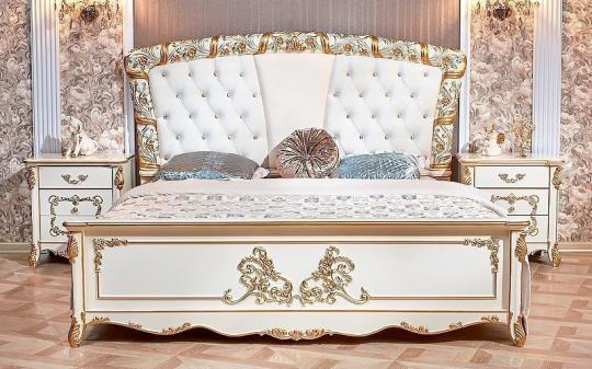 Спальня Фиона (крем) с 5-ти дверным шкафом-6