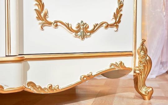 Спальня Фиона (крем) с 5-ти дверным шкафом-2