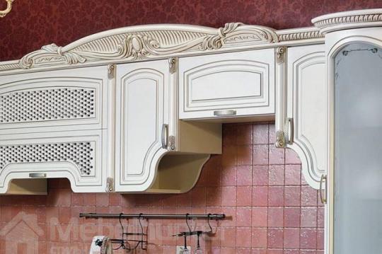 Кухня угловая Марлен беж-1