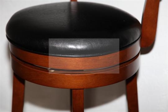 Барный крутящийся стул 9090 (Шоколад)-1