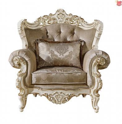 Мягкая мебель Магдалена (слоновая кость+золото)-1