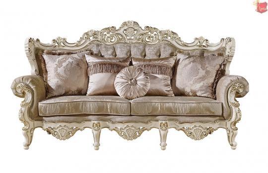 Мягкая мебель Магдалена (слоновая кость+золото)-2