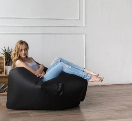 Надувное кресло AirPuf Черный-2